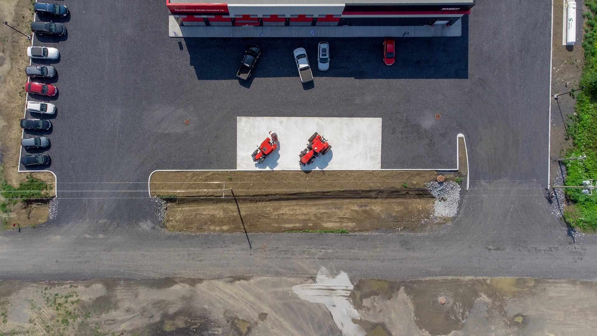Enviro Transpex - travaux d'excavation