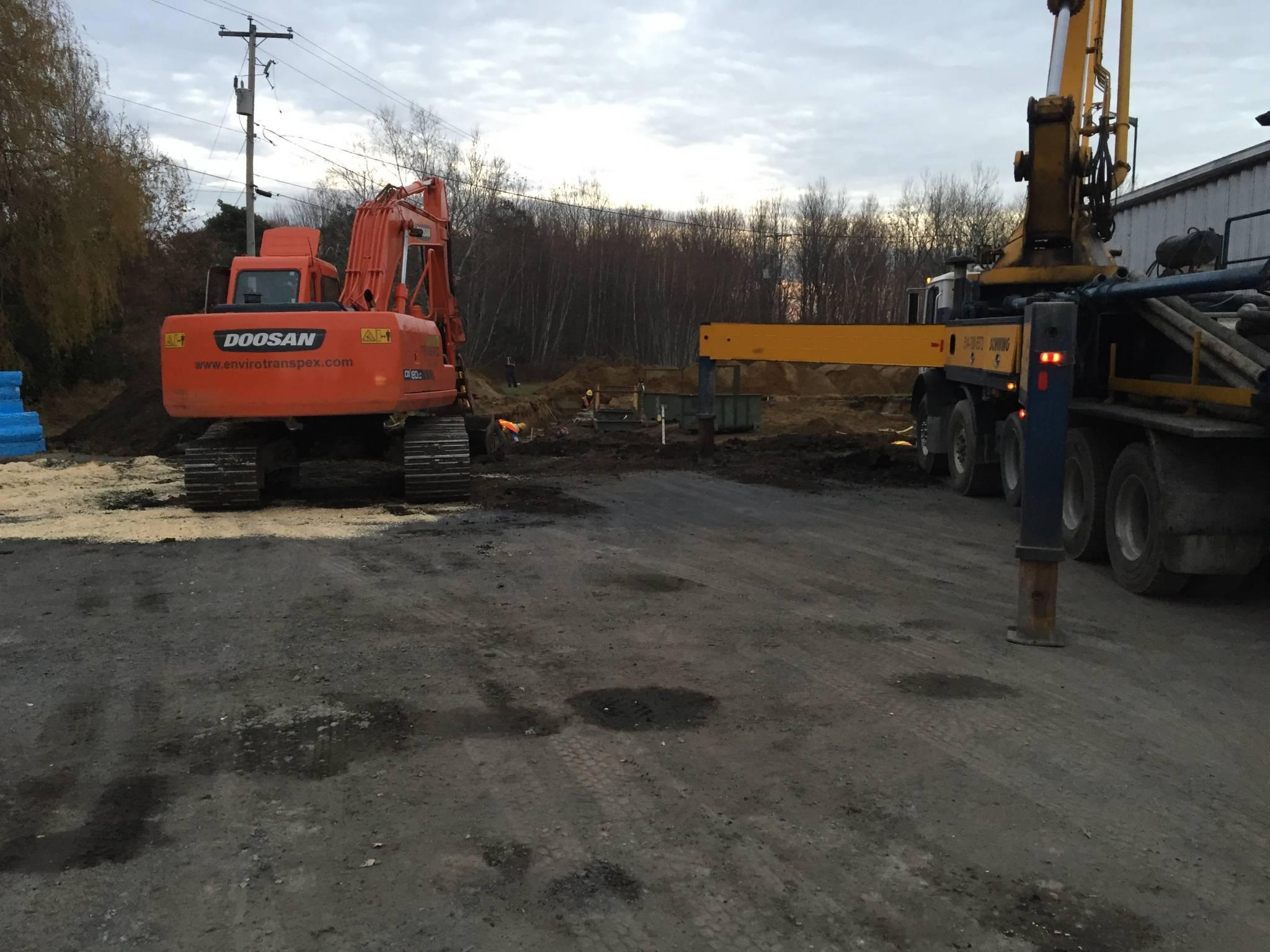 Envrio Transpex - Excavation et fondation